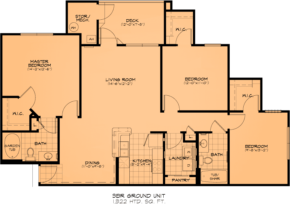 Three Bedroom Apartments Fayetteville, NC