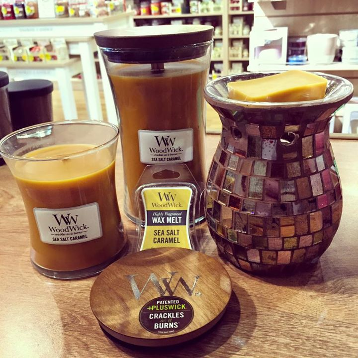Salted Caramel WoodWick Candles