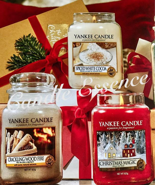 Christmas yankee candles