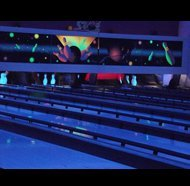 Multiple bowling lanes