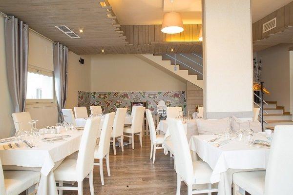 sala interna del ristorante