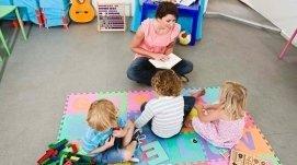 bimbi asilo privato, baby sitter, laboratori per bambini