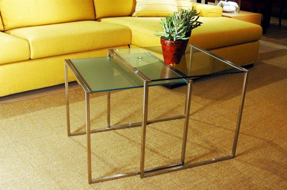 Tavolini da divano in metallo