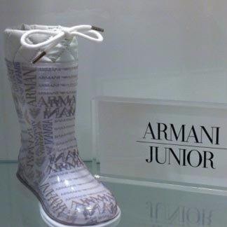 stivaletto grigio della marca Armani Junior