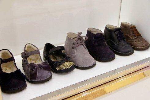 scarpe in camoscio da bambino