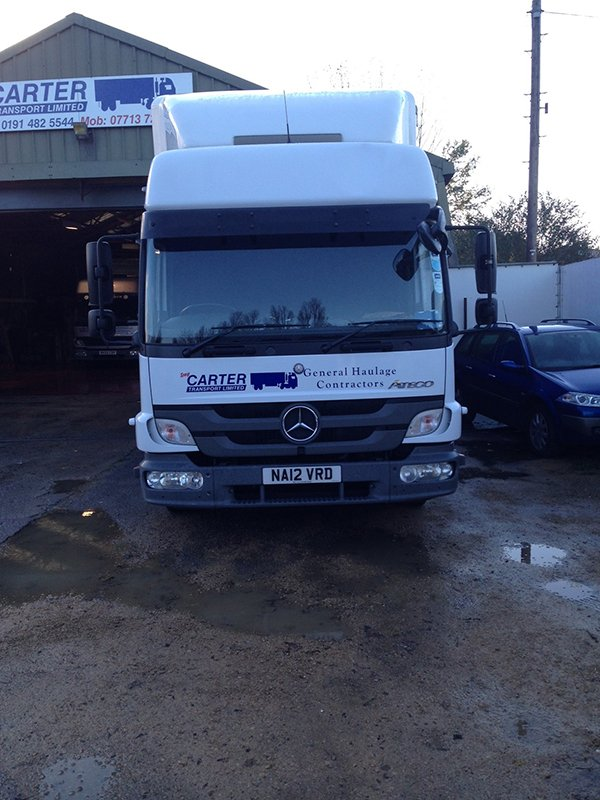 truck from Tony Carter Transport Ltd
