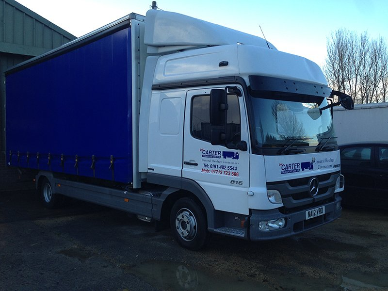 Tony Carter Transport Ltd trucks