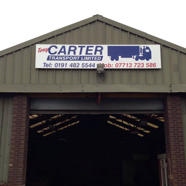 Tony Carter Transport Ltd board