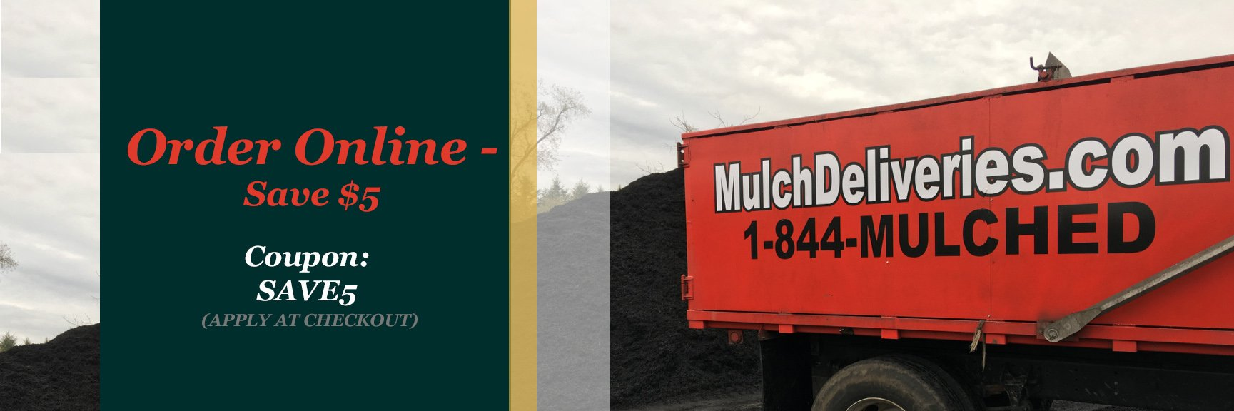 Mulch Delivery, Garden State Mulch Supply