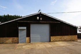 Caravan storage - Clapham, Bedford - Calver's Caravan Storage - shed