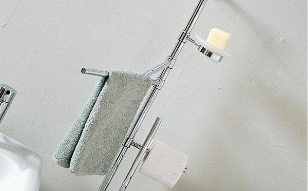 porta sapone e asciugamani