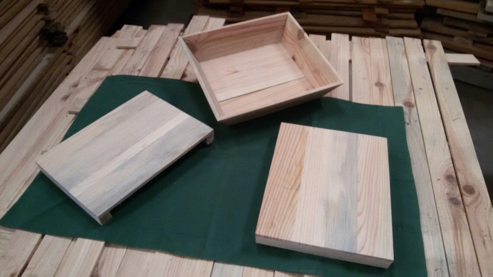 vassoi in legno