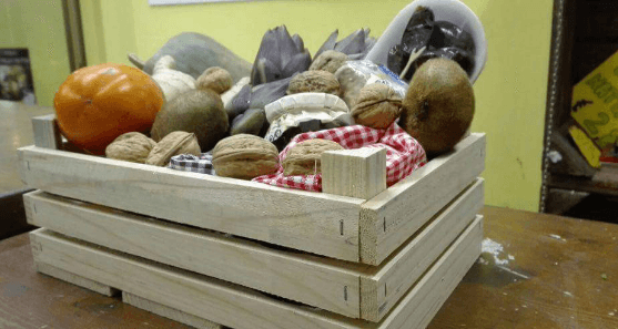 cassetta in legno per verdure