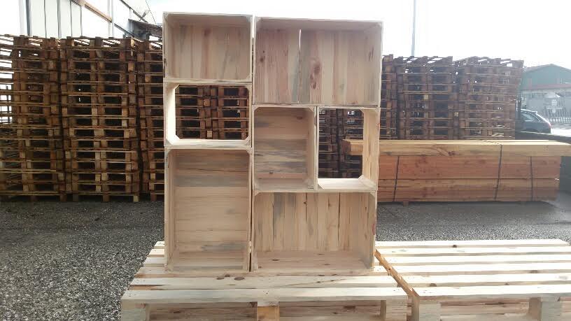 scaffale legno