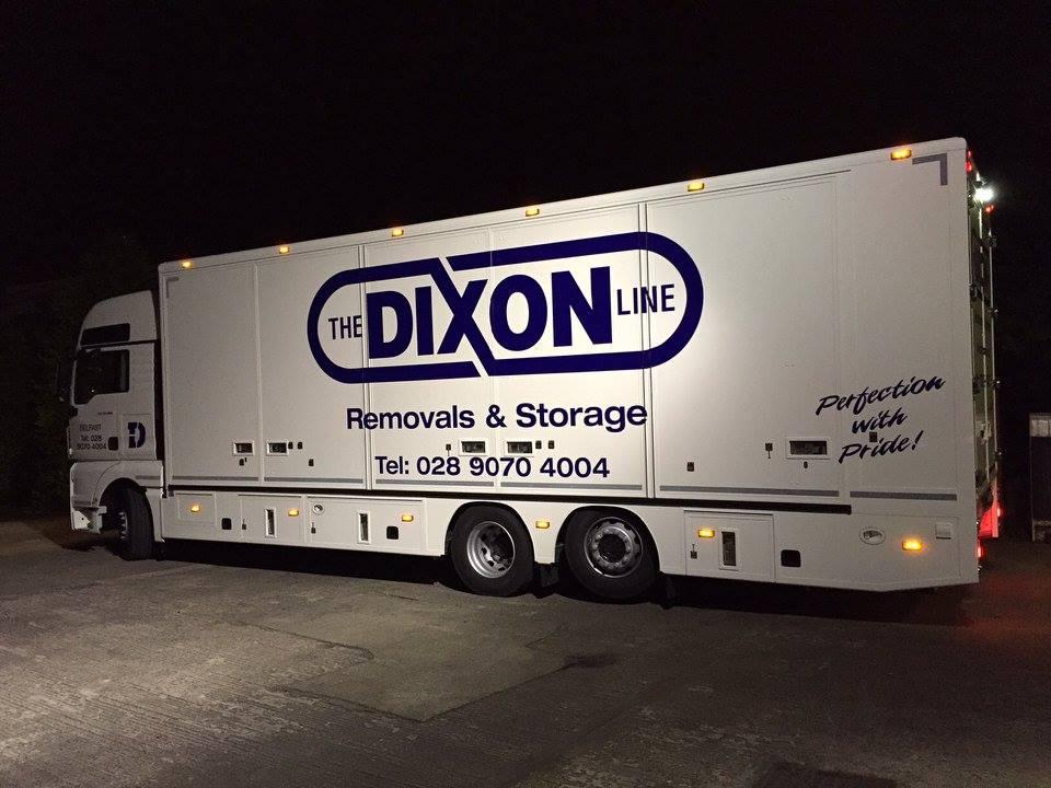 removals and storage van