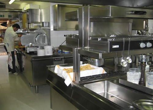 cucina ristorante attrezzata