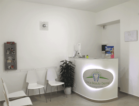 Reception clinica