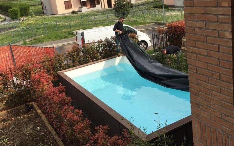 Costruzione di piscine merate lecco gruppo panzeri - Piscine seminterrate ...