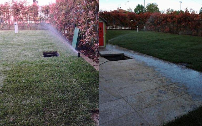 Installazione impianto di irrigazione
