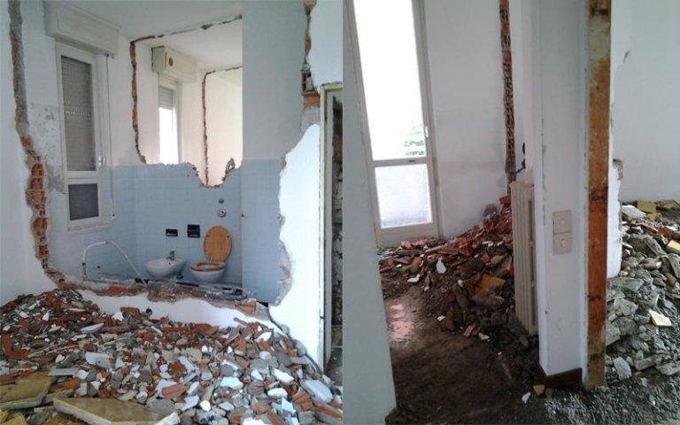 Demolizione interni