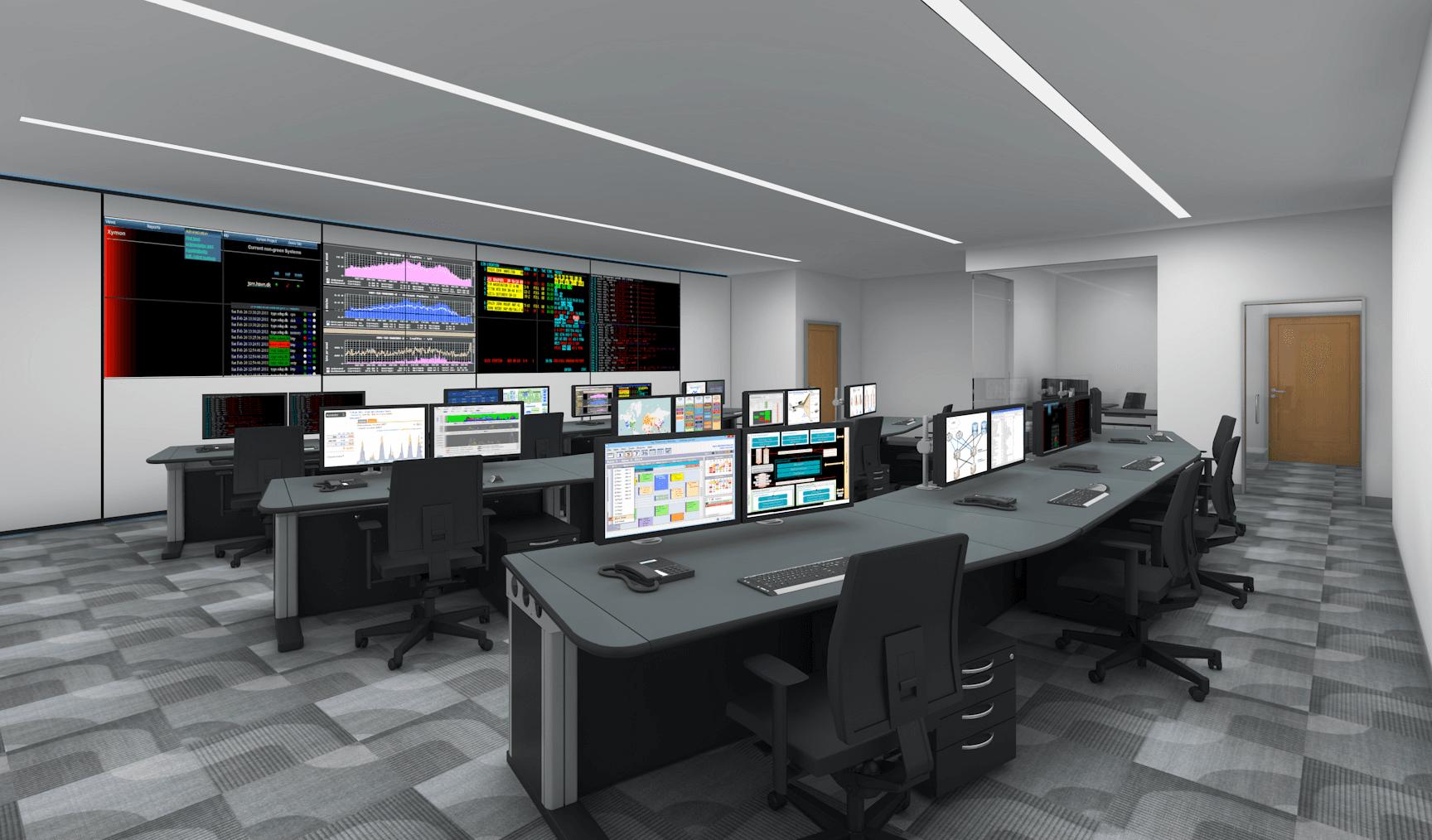 Evosite Control Rooms Homepage