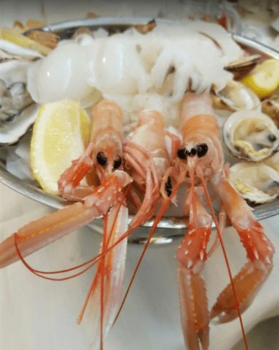 gamberoni, shrimp, gamberi rosa, gamberi crudi, gamberi pescati