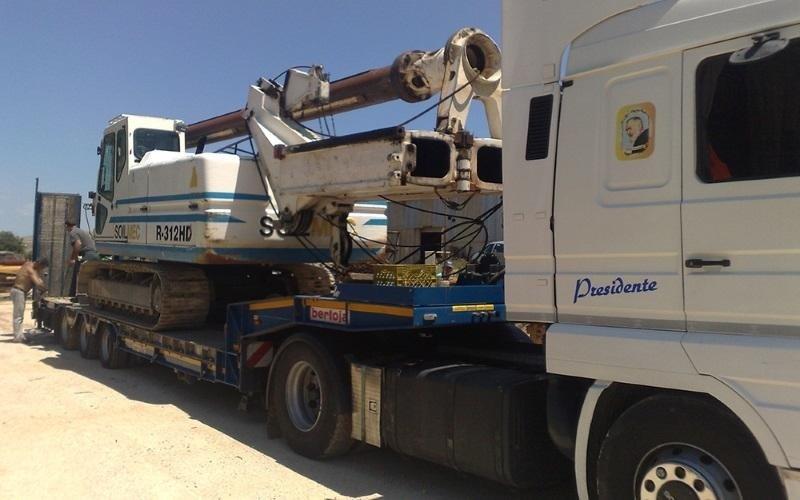 piling truck