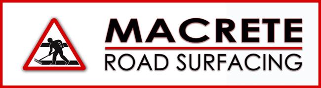 MACRETE ROAD SURFACING logo