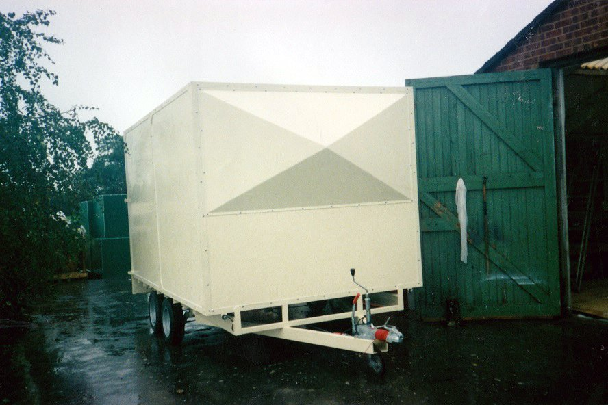 7-glass fibre trailer