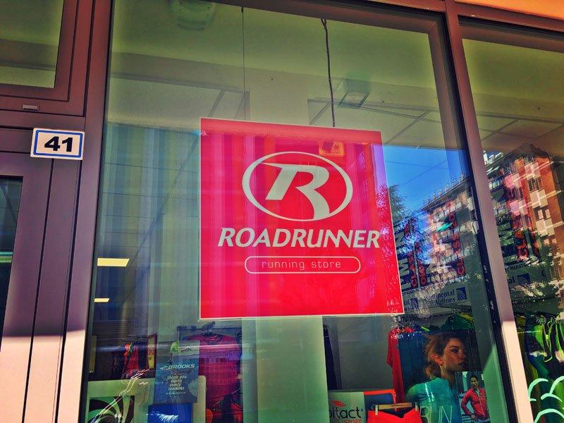 Vista del negozio Roadrunner - Running Store