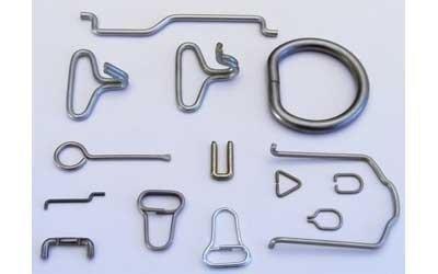 Articles en fils métalliques