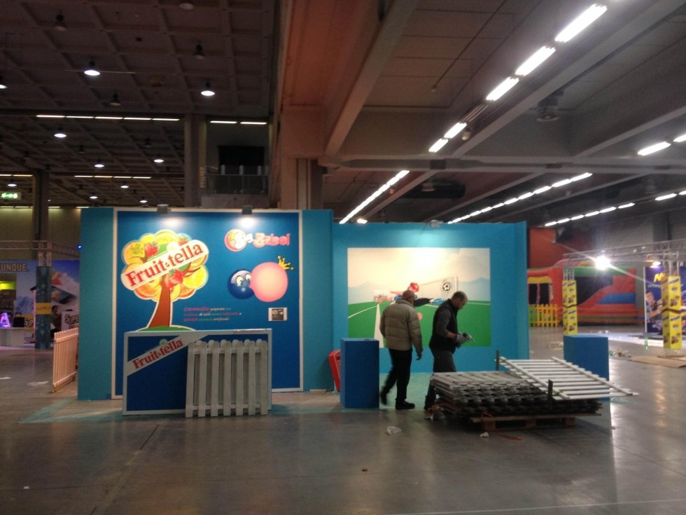 Exhibition stand decoration milan