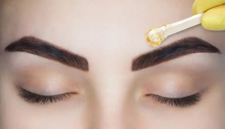 eyebrow threading for men