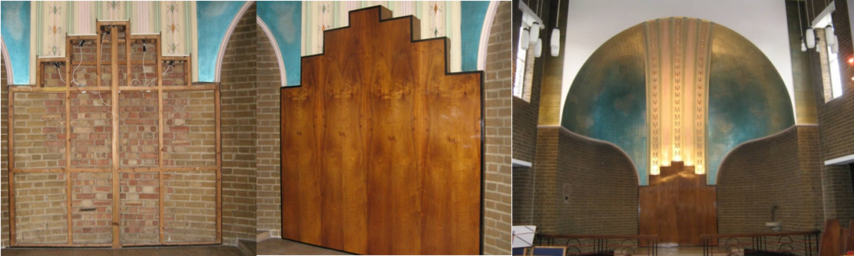 wooden frame work