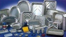 Vaschette e accessori in aluminio