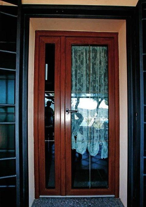 Vista esterna infissi in legno