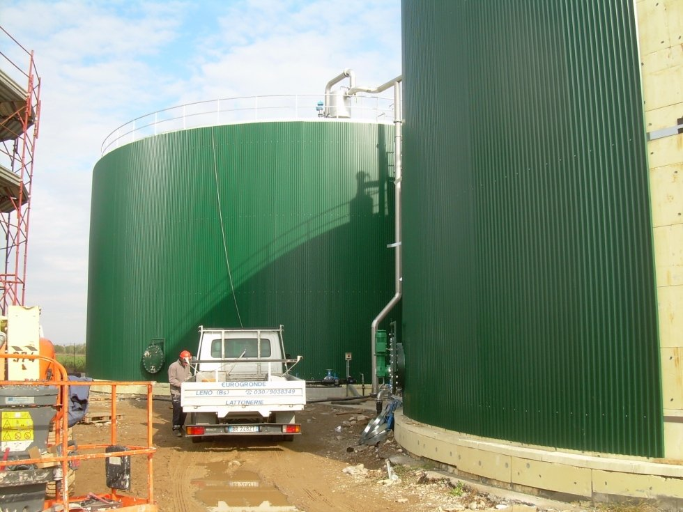 Rivestimenti biogas
