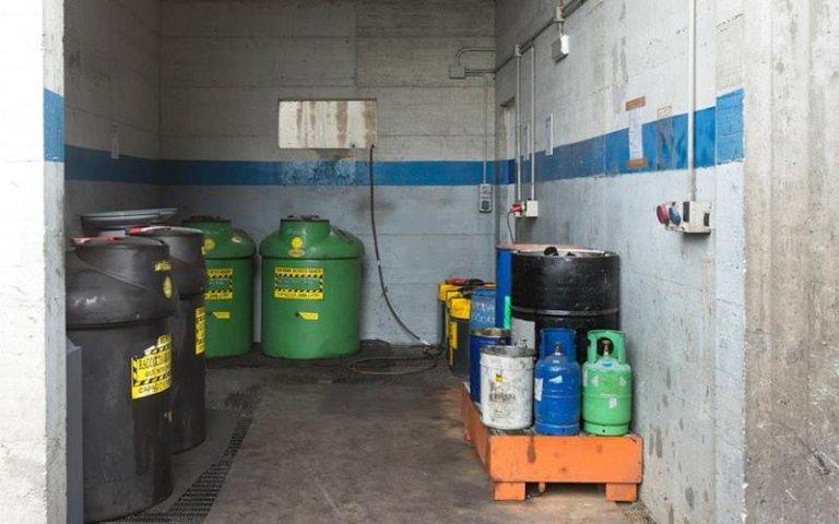 Autorizzazione smaltimento olio