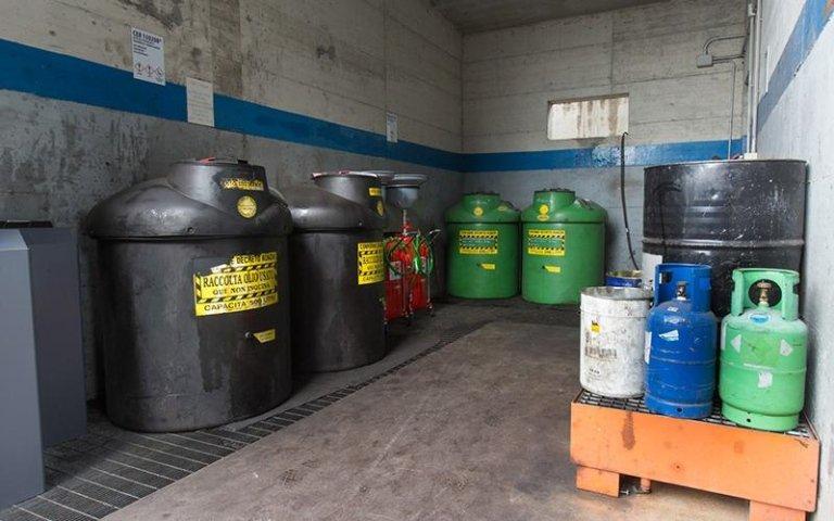 Smaltimento olio autorizzato