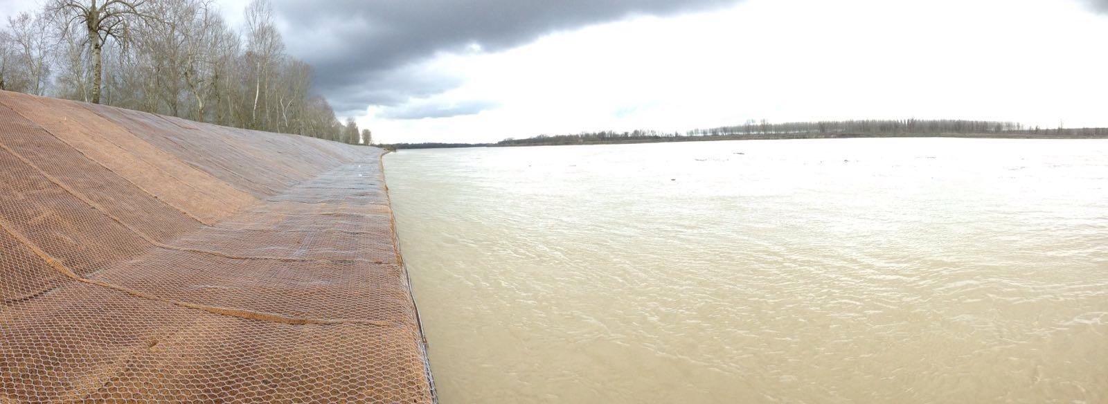 difesa spondale sul fiume