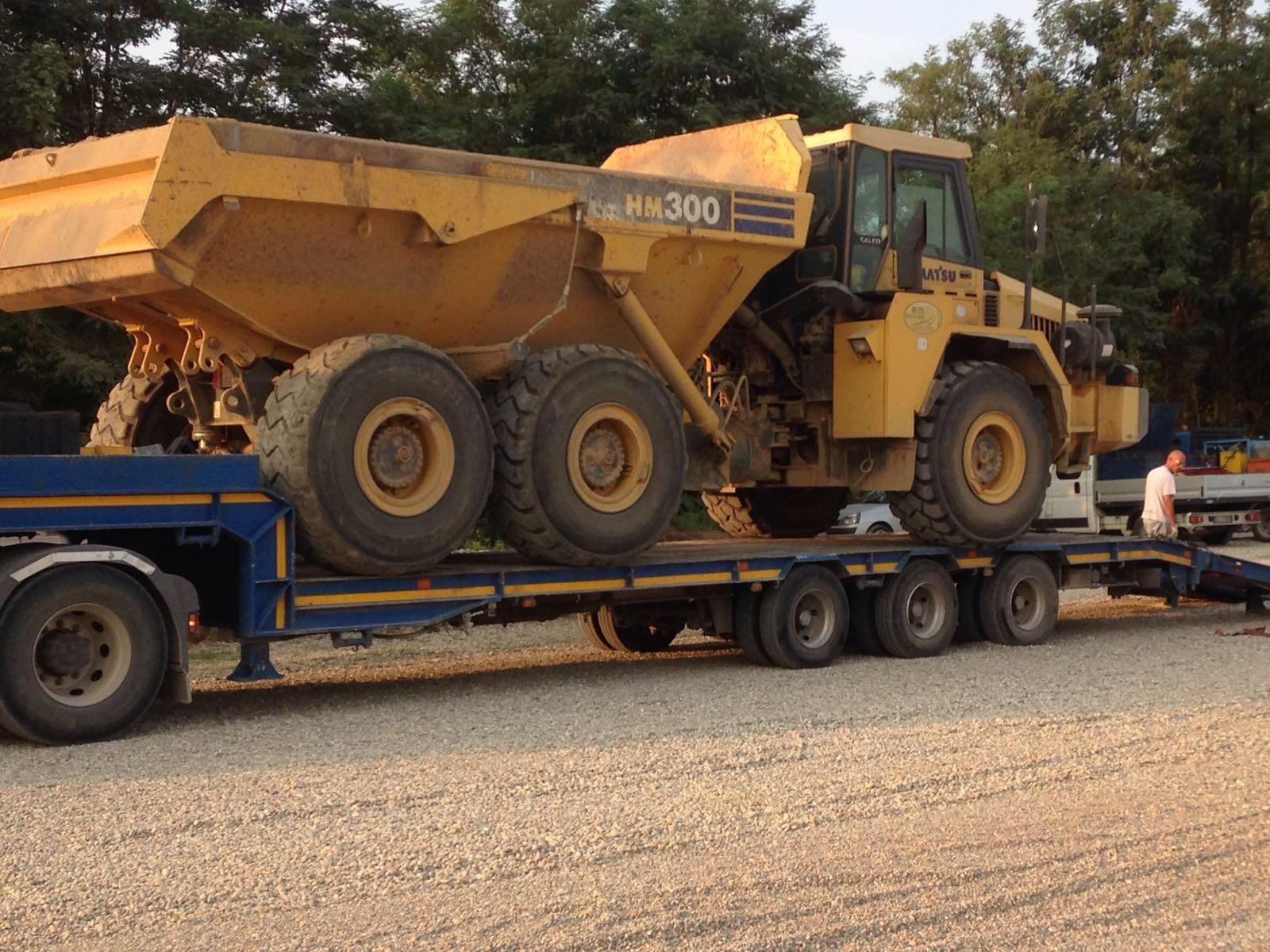 trasporto trattore