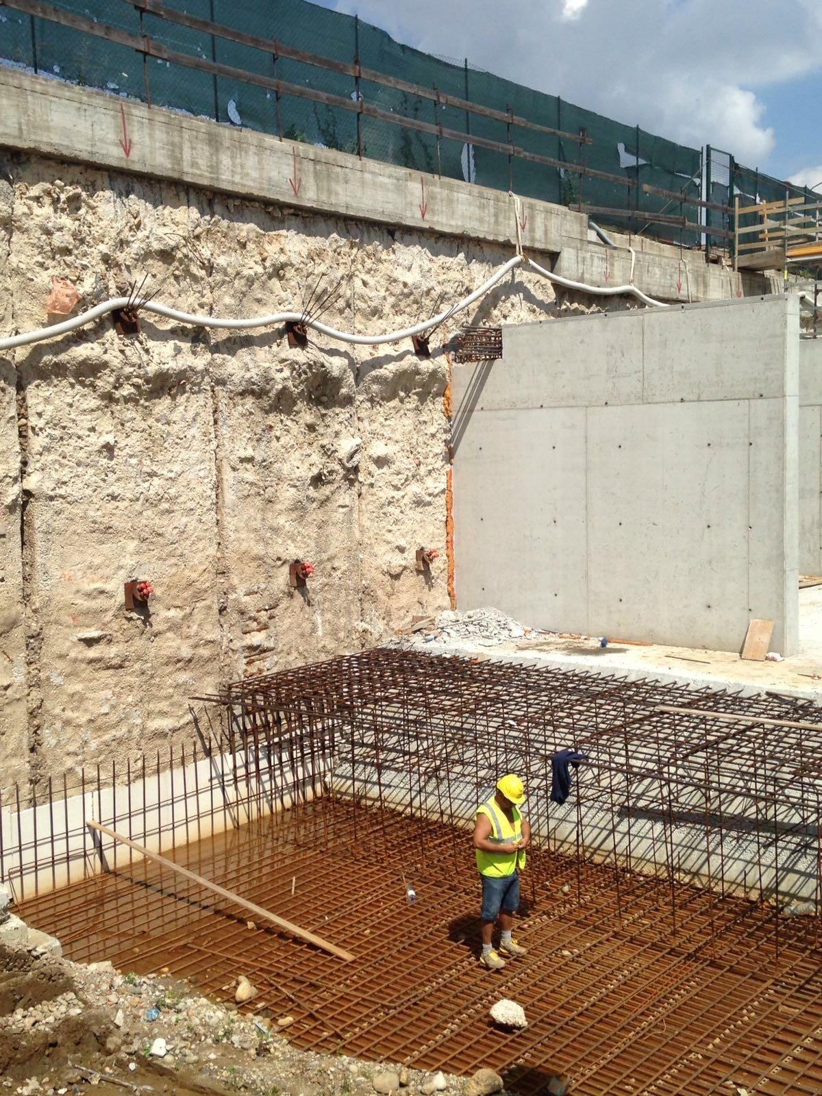 lavori di costruzione