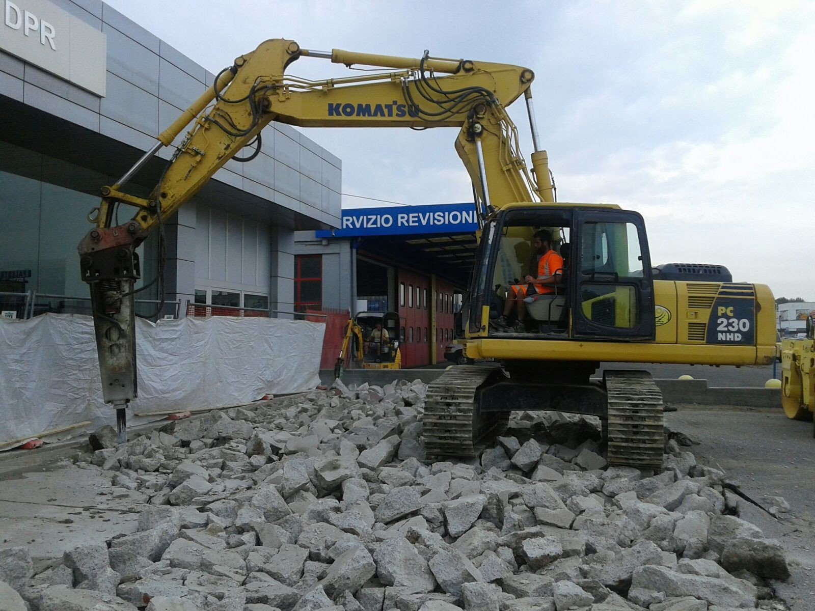 demolizioni pavimenti
