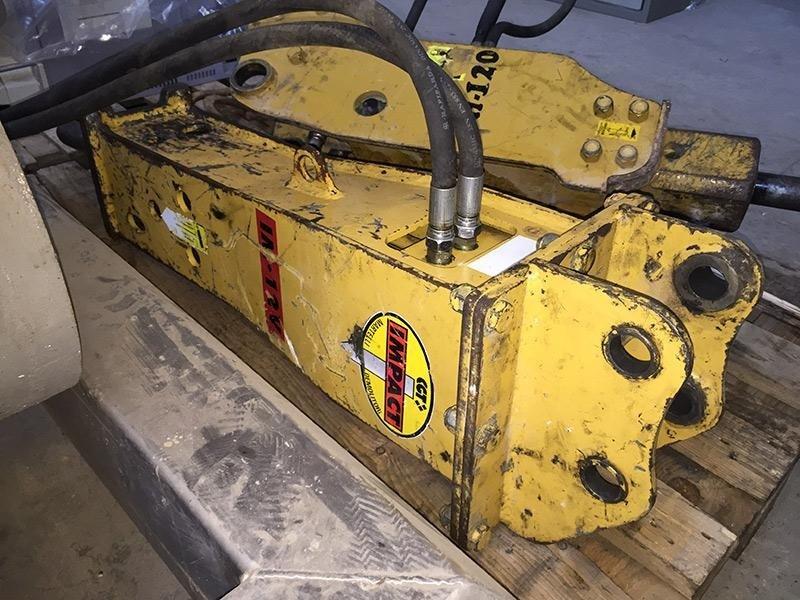 Martello-per-escavatore-CGT-Impact-IM---12V---frontale