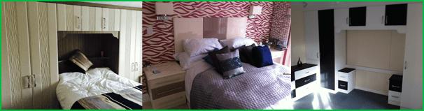 Bespoke bedroom design and installation