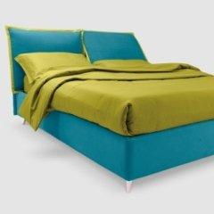 letto verde e azzurro