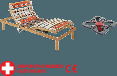 rete a doghe in legno con dispositivo medico-Ergogreen