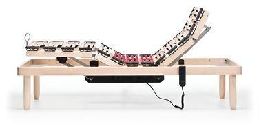 vista laterale di un rete a doghe motorizzata -Zigflex