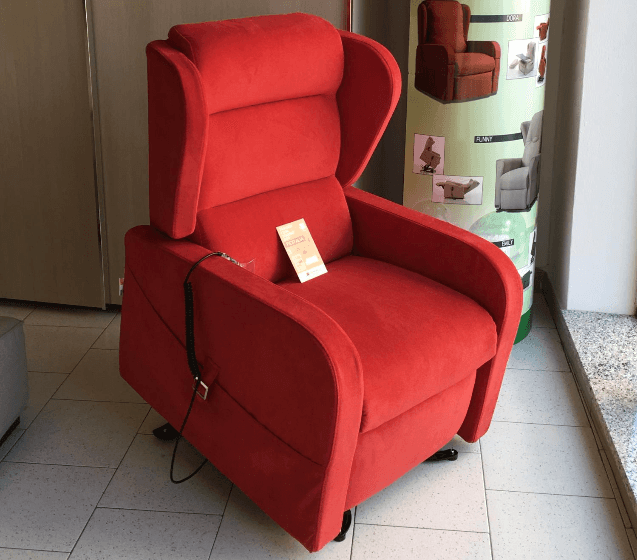 Poltrone Relax rosso