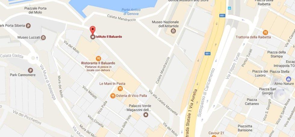 Genova Porto Antico:Via del Molo 4
